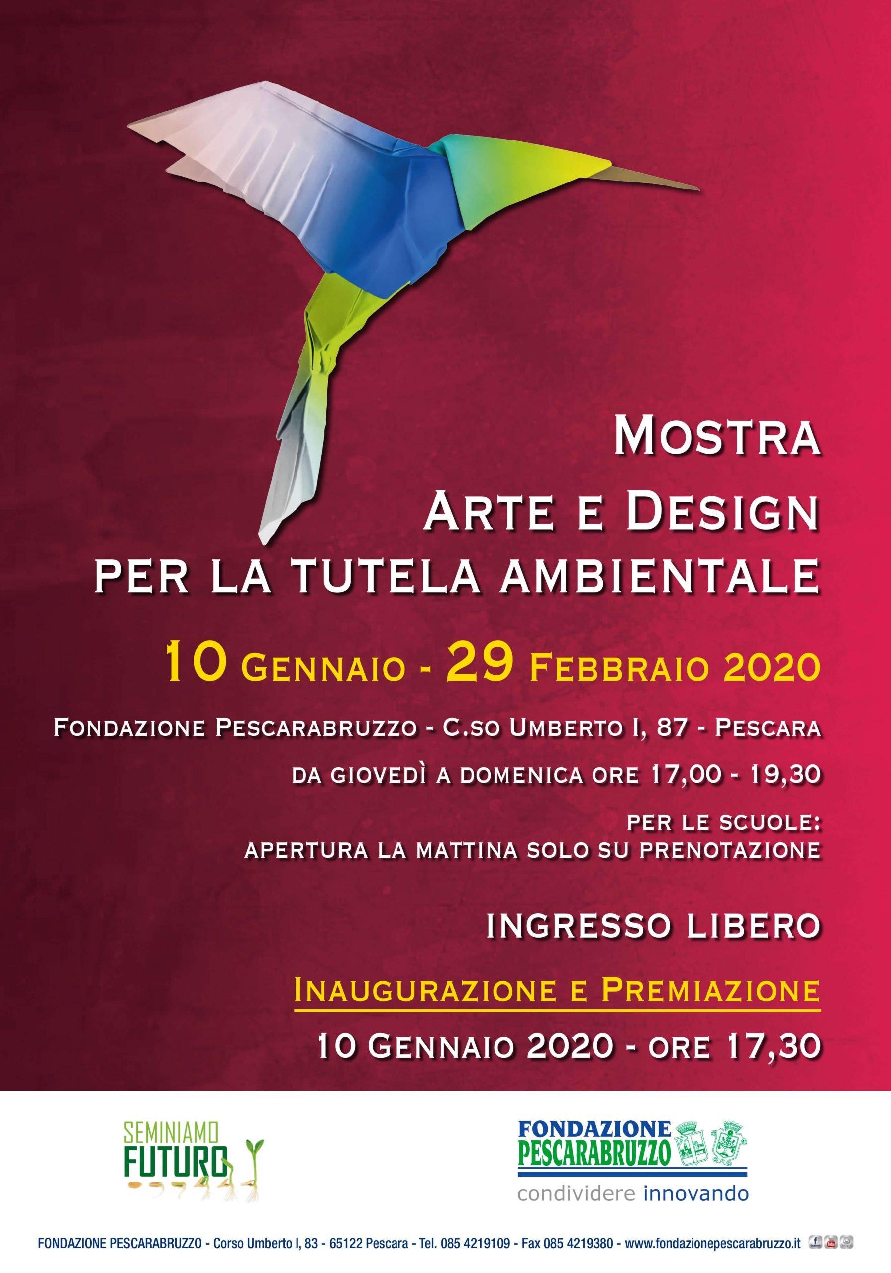 arte e design per la tutela dell'ambiente