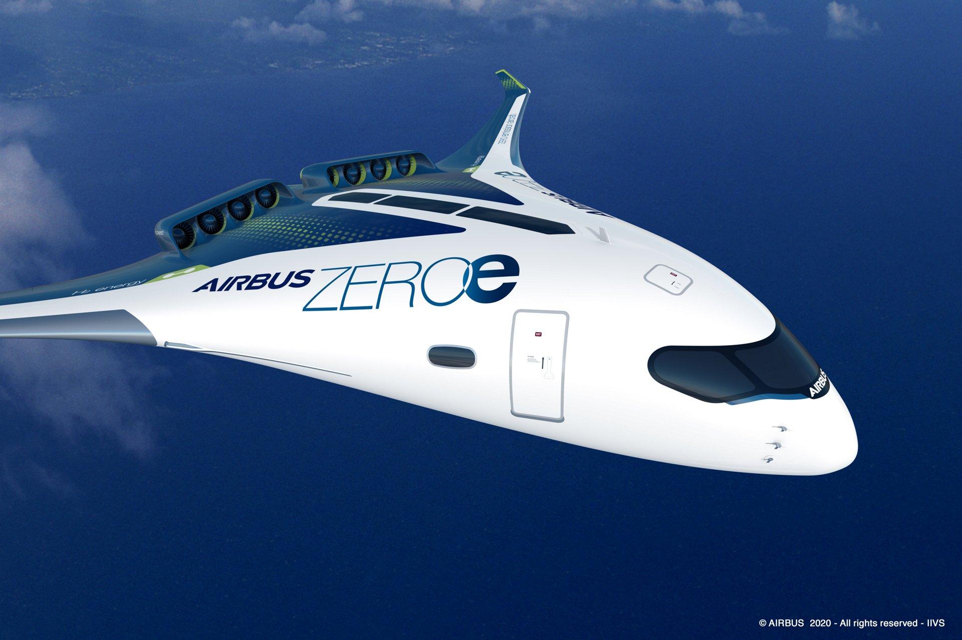 Aereo ad idrogeno della Airbus