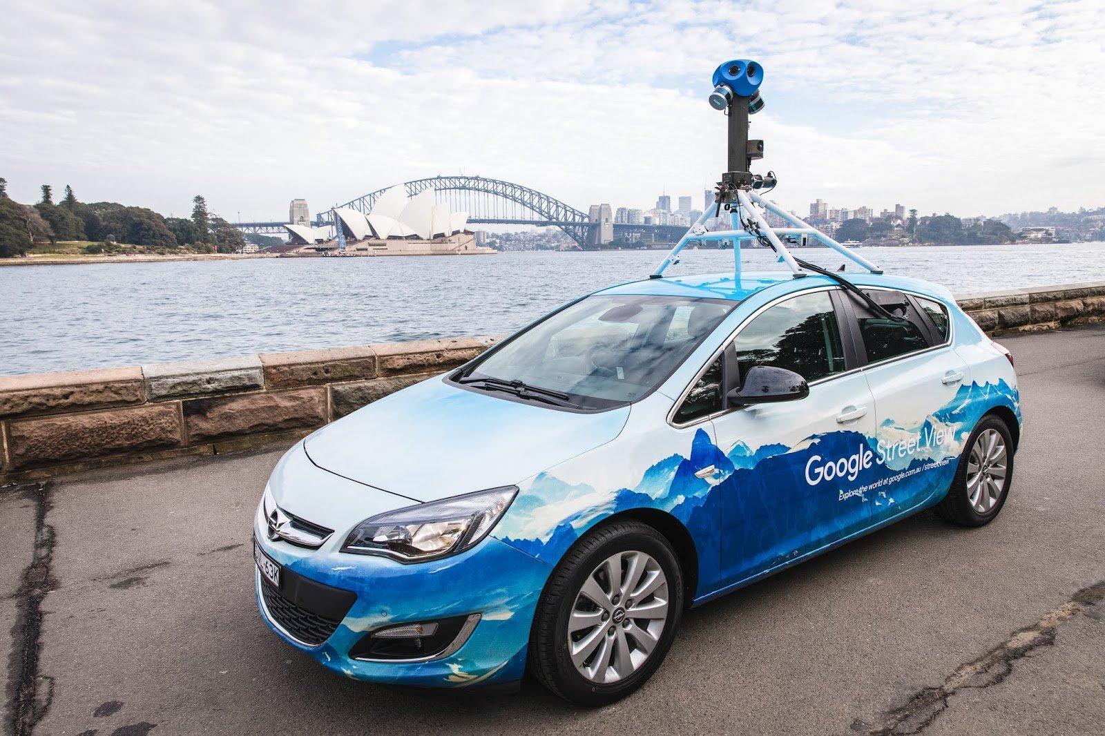 Auto di Google Street View