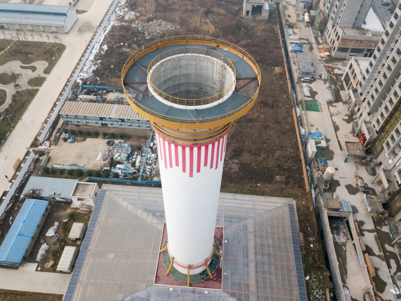 Smog Tower in Cina