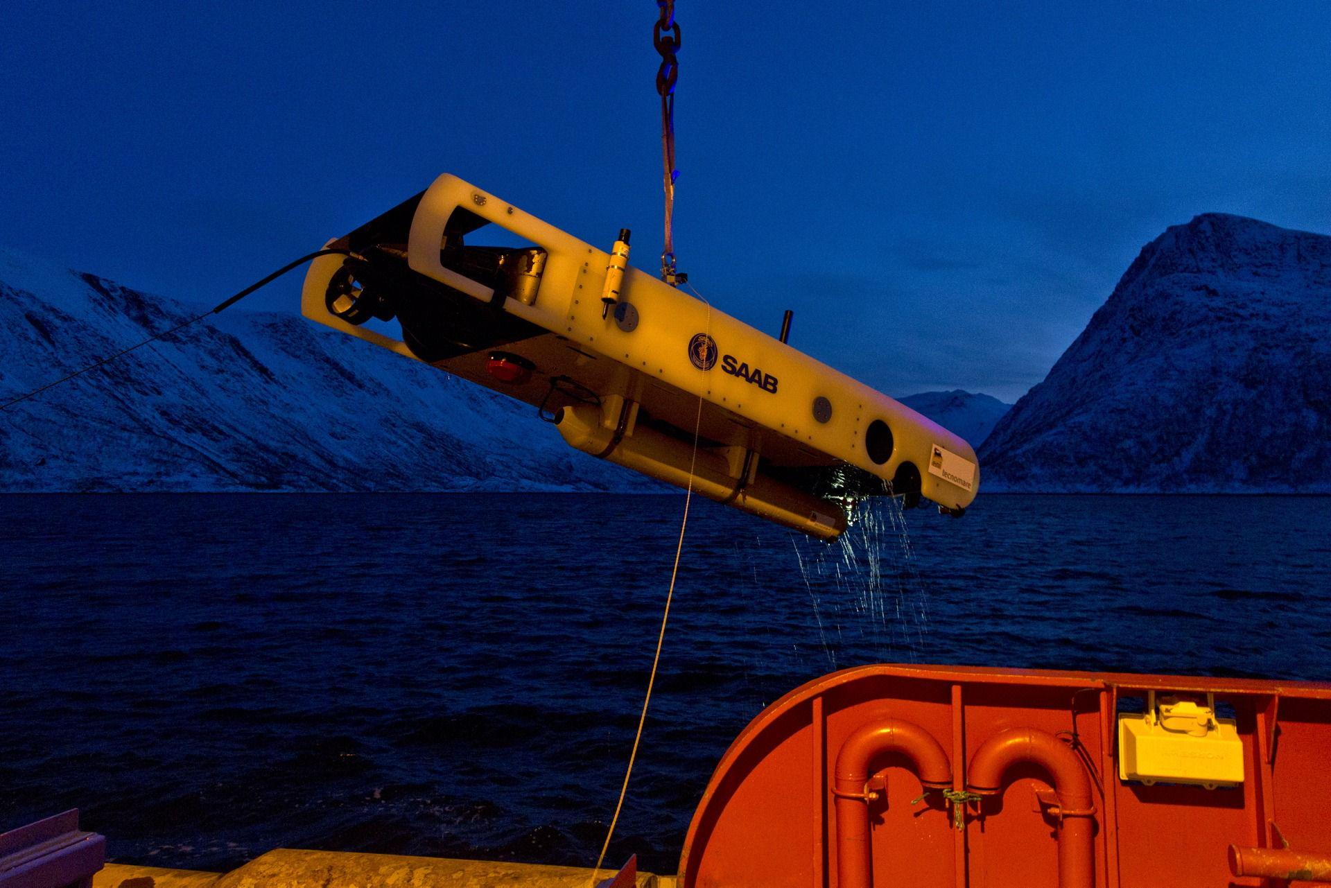 robot subacqueo
