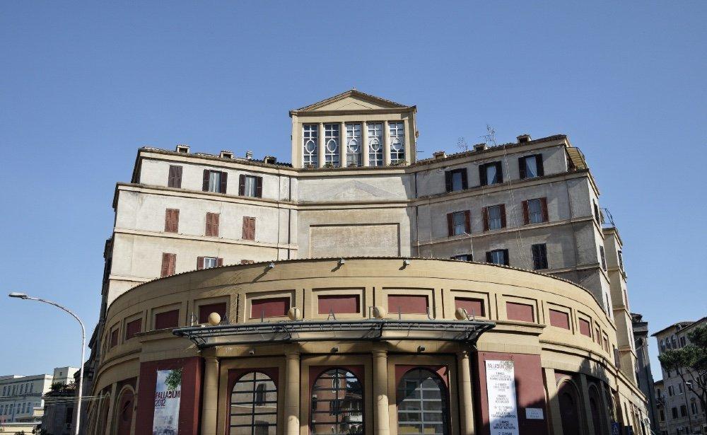 Roma, Garbatella. Teatro Palladium