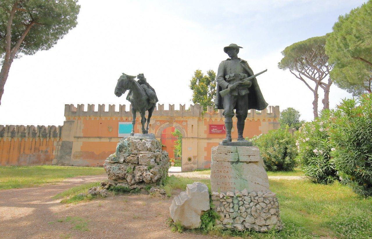 Roma, Villa Borghese. Casa-museo Pietro Canonica