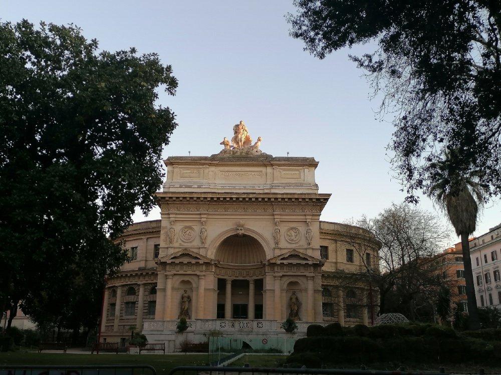 Roma, rione Esquilino. Ex Acquario, oggi Casa dell'Architettura