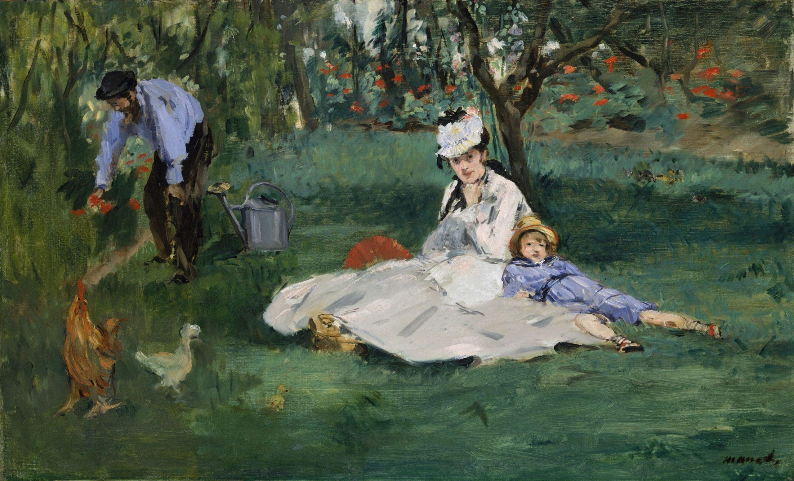 La famiglia di Monet