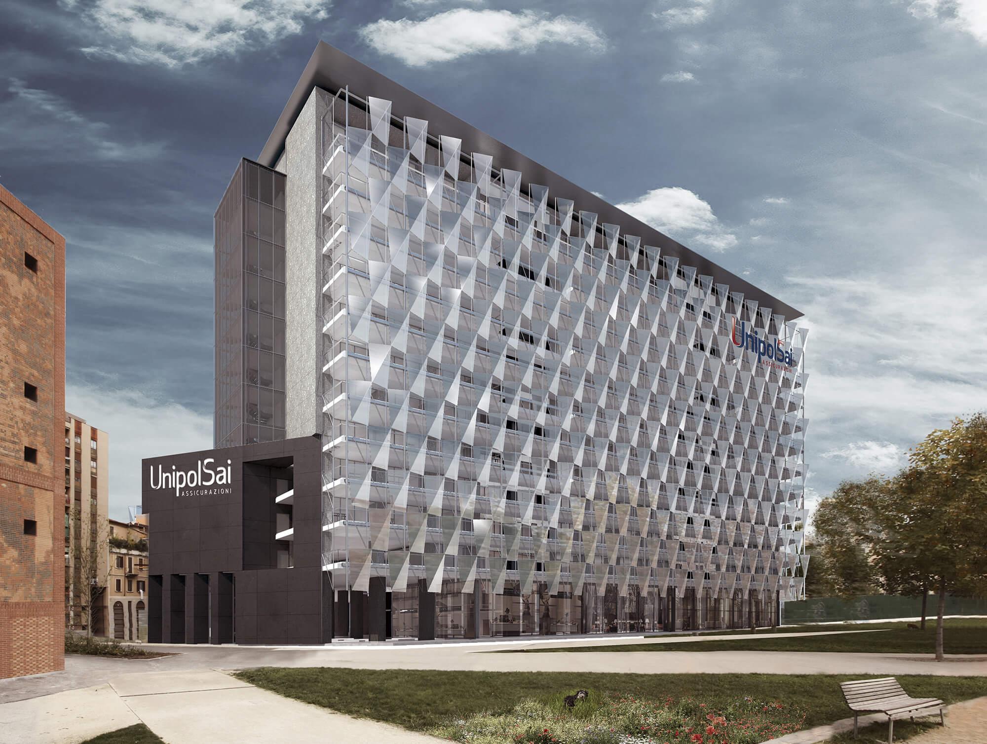 Il palazzo UnipolSai a Milano