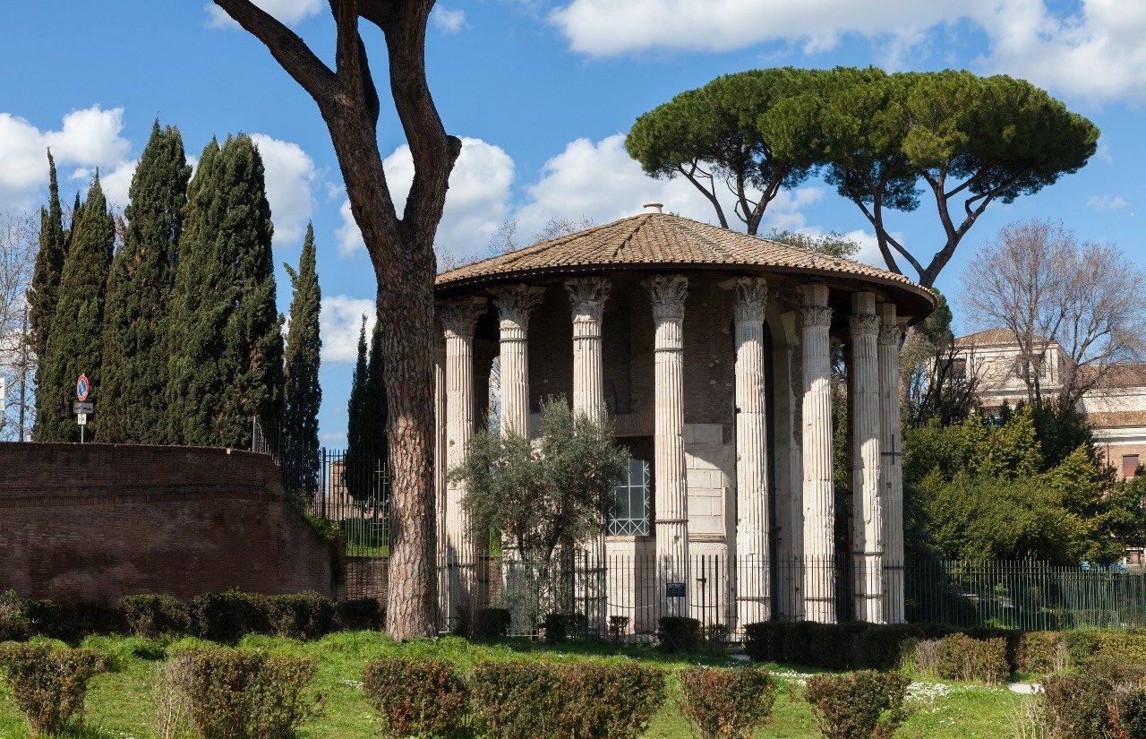 Roma, Foro Boario. Tempio di Ercole Vincitore