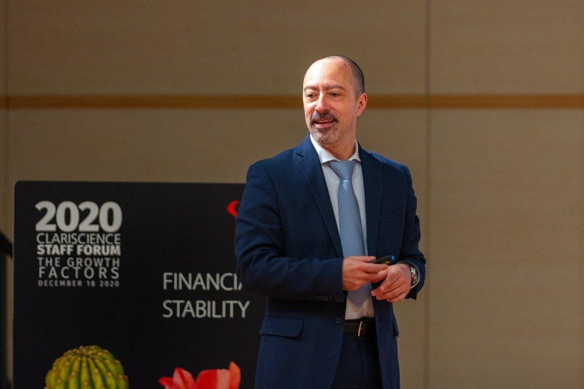 Stefano Pagnutti CEO Clariscience