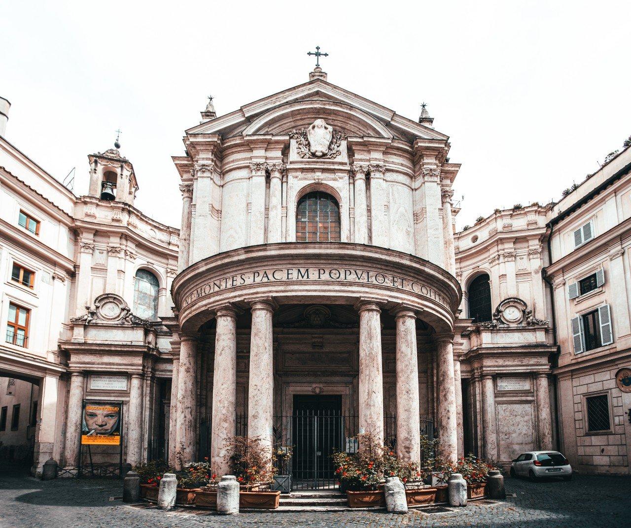 Roma, Chiostro del Bramante