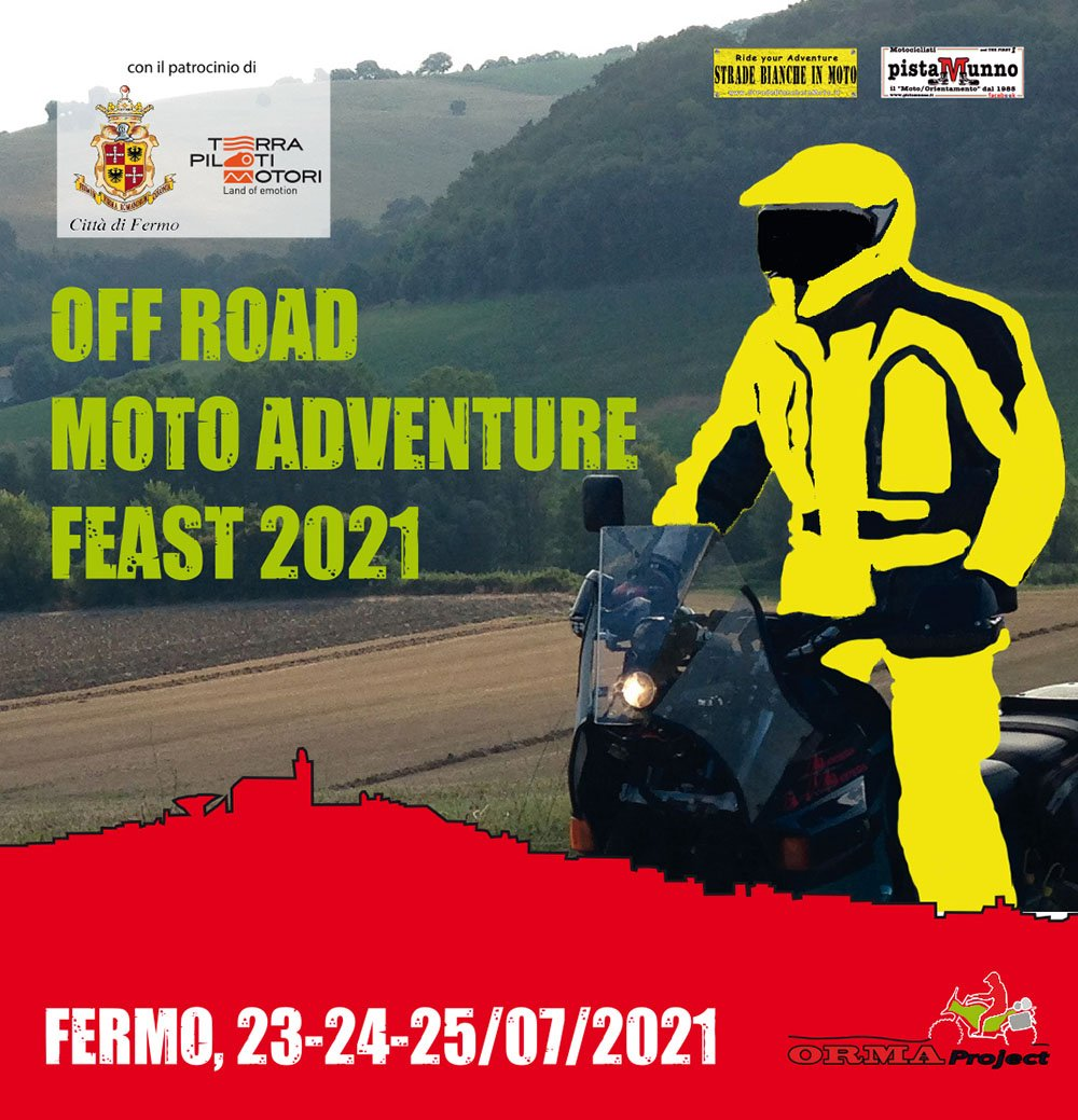Off Road Moto Adventure 2021 locandina