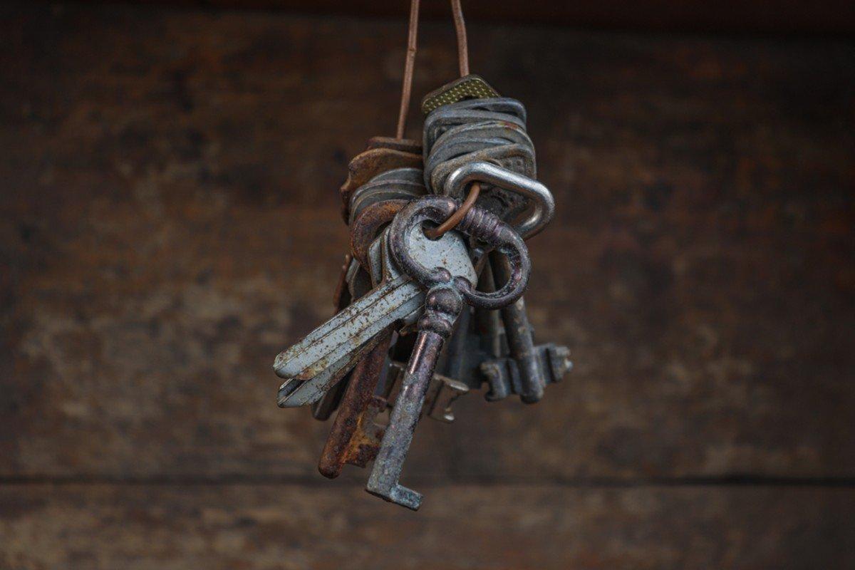 chiavi vintage