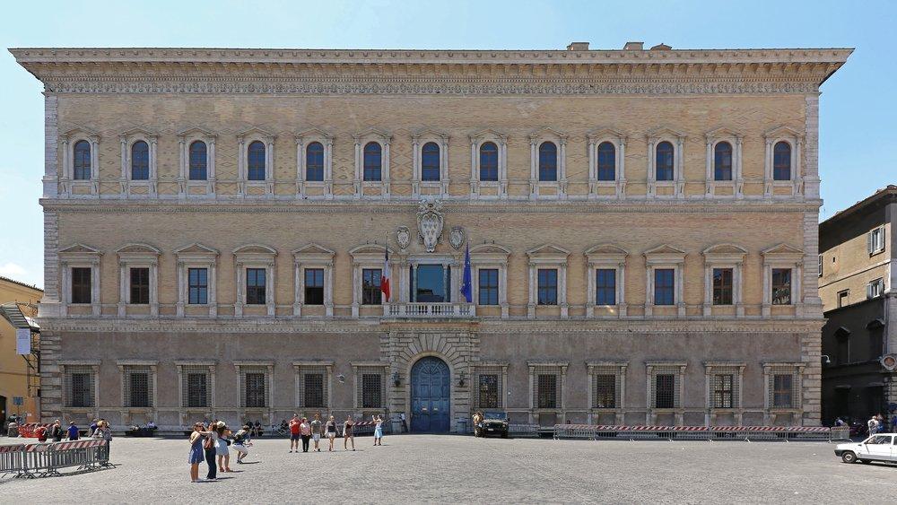 Roma, Palazzo Farnese
