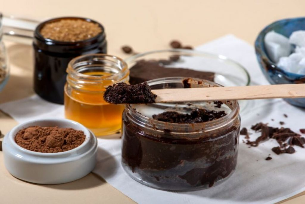 Scrub cacao ingredienti