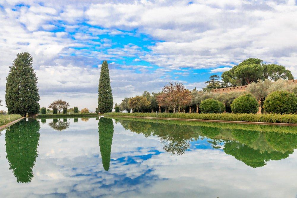Tivoli, Villa Adriana. Il Pecile